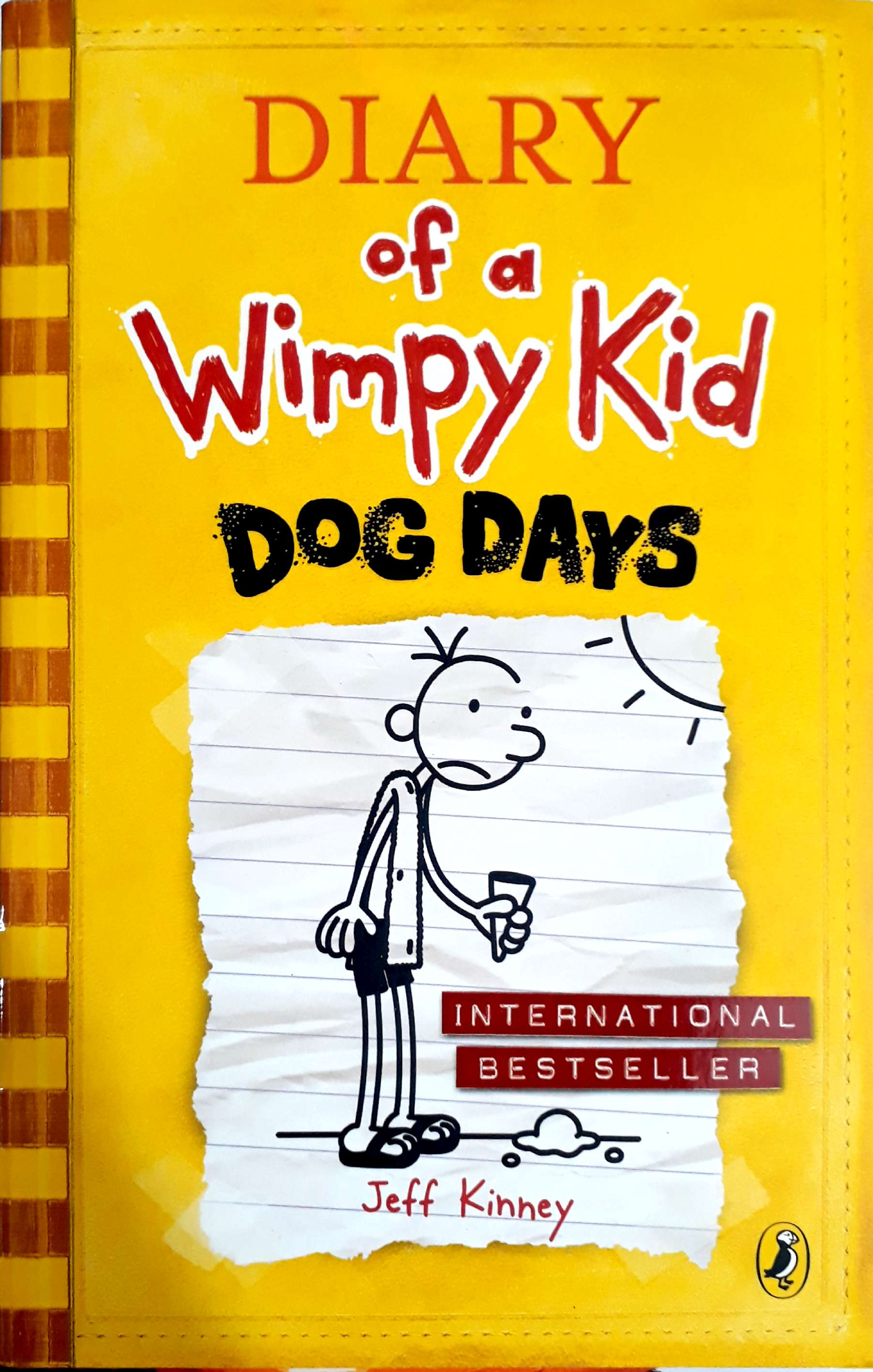 the major conflict in diary of wimpy kid